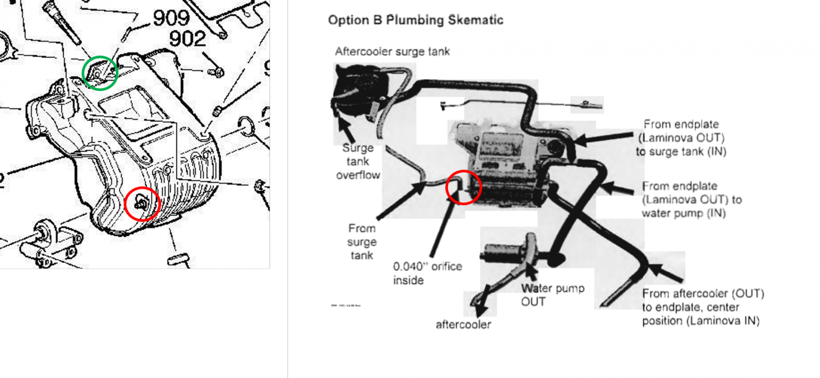 LSJ Cooling mods Option B Dual Pass HE etc – Lsj Engine Diagram